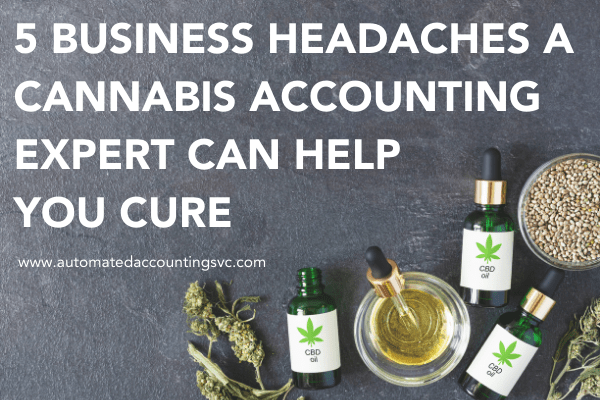 5 Business Headaches a Cannabis Accounting Expert Can Help You Cure