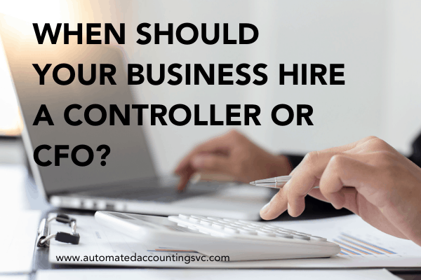 When Should You Hire or Outsource a Controller or CFO?