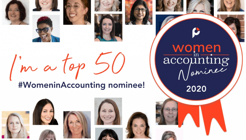 Practice Ignition Top Women in Accounting Awards Nominee