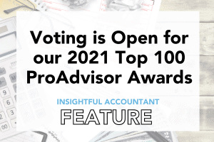 Vote for the Top 100 ProAdvisors of 2021