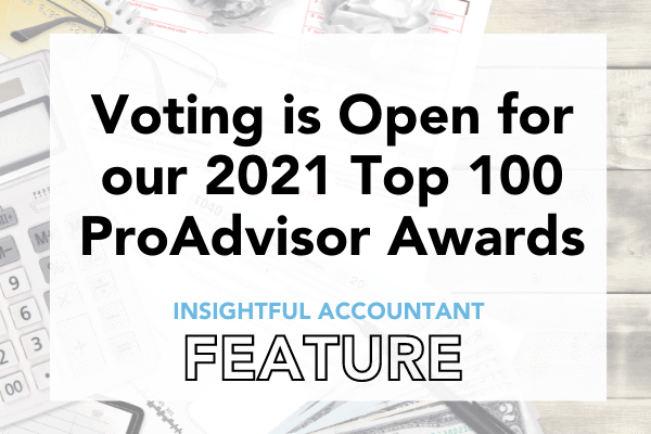 Read more about the article Vote for the Top 100 ProAdvisors of 2021